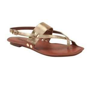 Banana Republic Leather Slingback Sandals Sz: 8.5